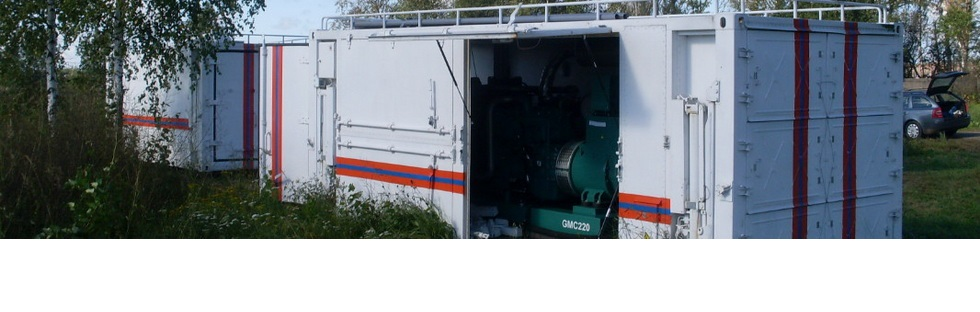 MOBILE UNITS PLAZARIUM FOR WASTE DISPOSAL AND PLASMA GASIFICATION