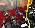 Gas and oil burners to heat the combustion chamber