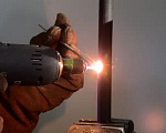Copper welding process using the T-3 plasma burner as part of the PLAZARIUM device, SP3/SP3A Model