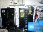 The power supply system of two 100kW steam plasma torches