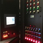 Touch control panel and PLAZARIUM TPS industrial plasma systems