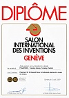 Diploma of the International Exhibition of Inventions in Geneva