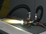 Steam plasma torch PLAZARIUM TPS for plasma gasification (70 kW)