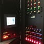 Touch control panel and PLAZARIUM TPS industrial plasma systems 320 kW