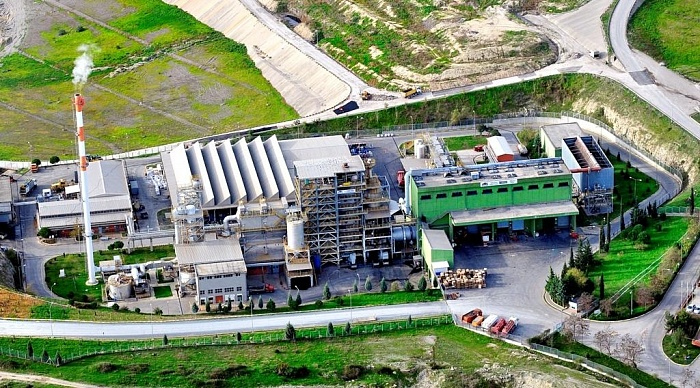 Waste disposal plant IZAYDAS located near Izmit