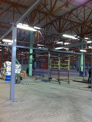 The beginning of construction of a new PLAZARIUM production facility