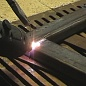Steel welding with the PLAZARIUM device, SP3/SP3A Model