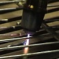 Steel grid cutting