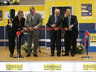 Открытие выставки Intertool Moscow