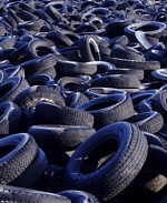 Plasma pyrolysis of tires and rubber products